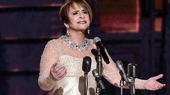 NEW YORK, NY - JANUARY 28:  Actor Patti LuPone performs onstage during the 60th Annual GRAMMY Awards at Madison Square Garden on January 28, 2018 in New York City.  (Photo by Theo Wargo/WireImage)