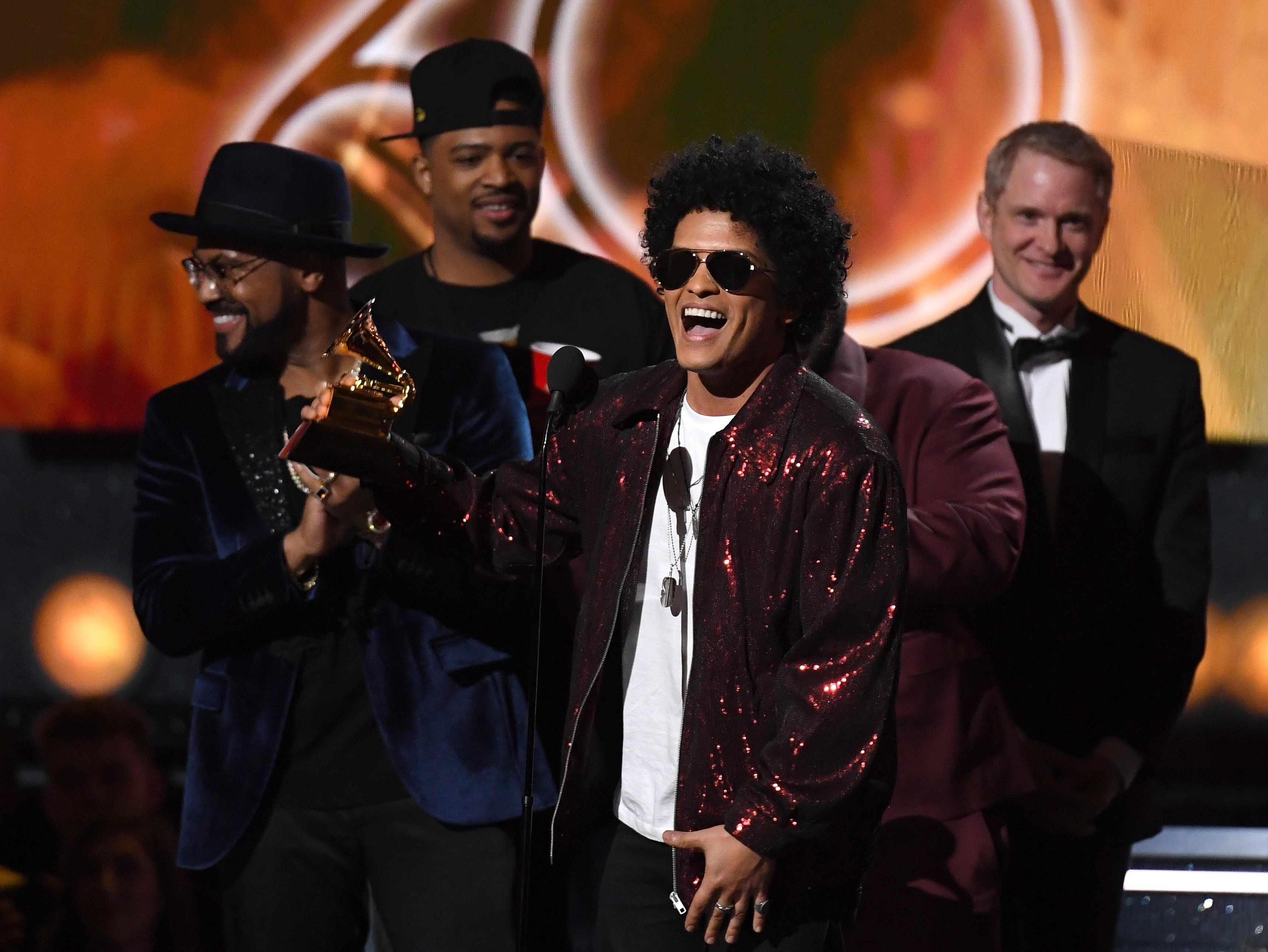 Jay-Z's Loss Is Bruno Mars' Gain: All The Winners From This Year's Grammys