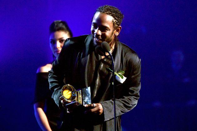 Kendrick Lamar at the