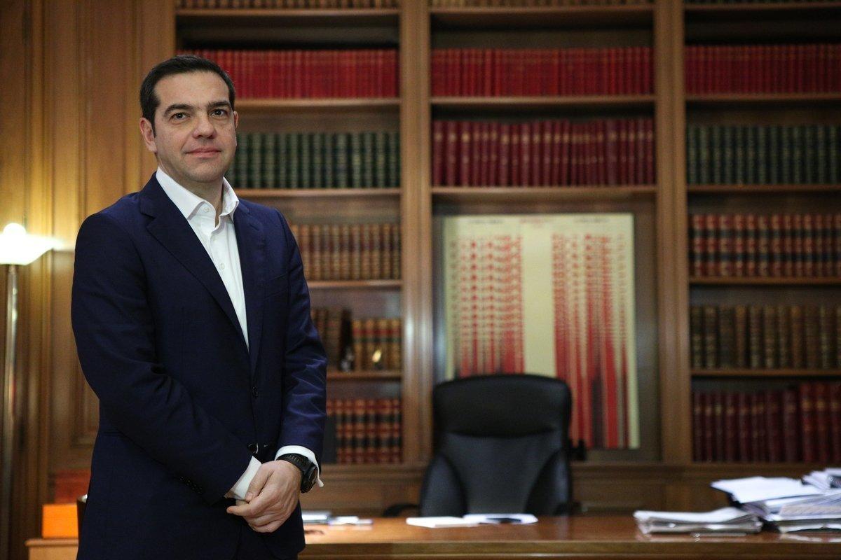Τι έκανε ο Τσίπρας στο Μαξίμου όσο περίμενε τους πολιτικούς