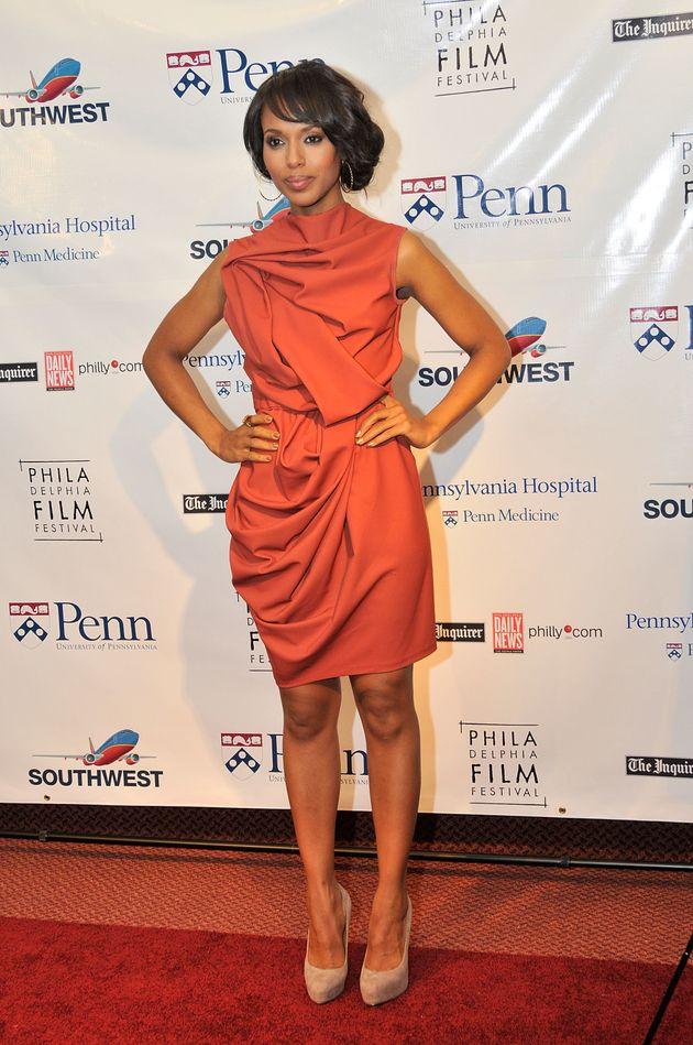 Βραβείο στυλ για την ηθοποιό Kerry Washington, για τη «γνώση της στον σχεδιασμό