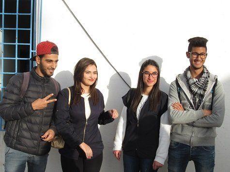Η νεολαία της Τυνησίας...