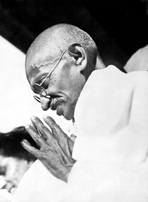 Mahatma Gandhi was born in an India still under British colonial