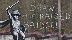 Η τέχνη του Banksy ενοχλεί: Βανδάλισαν έργο του για το