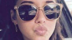Als die Fans erkennen, was sich in Sarah Lombardis Brille spiegelt, löscht sie ihr Selfie sofort
