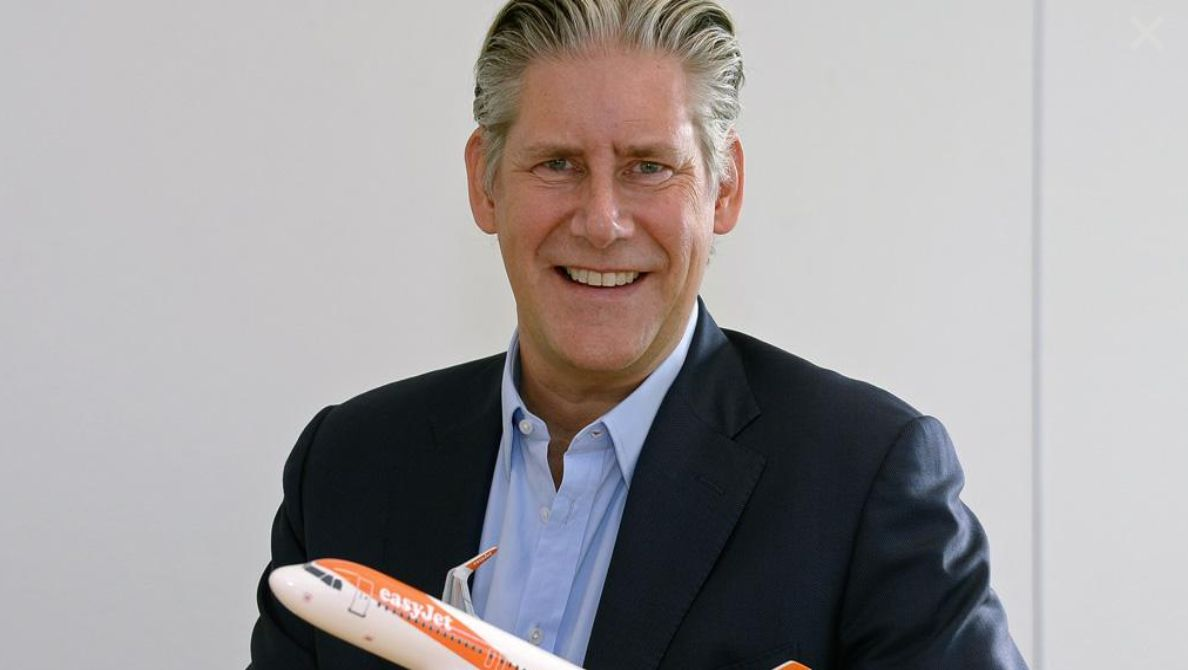 EasyJet Boss Voluntarily Takes £34k Pay Cut To Tackle Gender Pay Gap