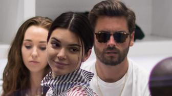 NEW YORK, NY - JULY 27:  Kendall Jenner and Scott Disick seen shopping on July 28, 2017 in New York City.  (Photo by Team GT/GC Images)