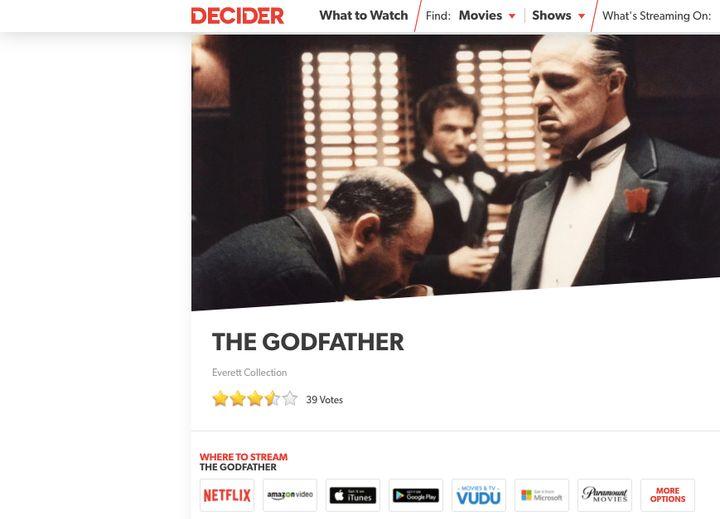 Decider for Netflix