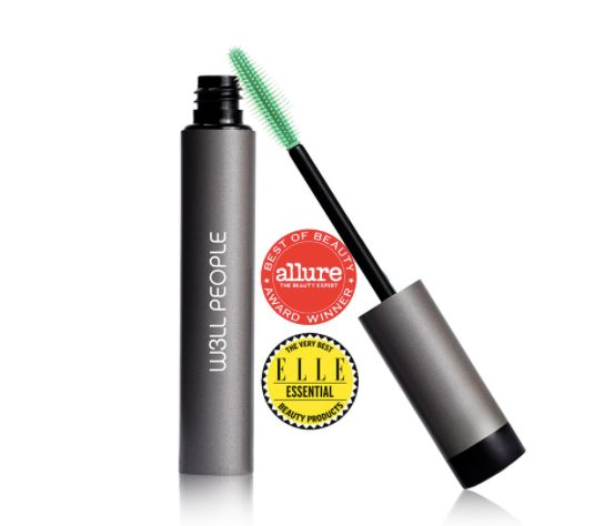 "A favorite by many green beauty bloggers, <a href=""https://www.dermstore.com/product_Expressionist+Mascara_69974.htm"" target="
