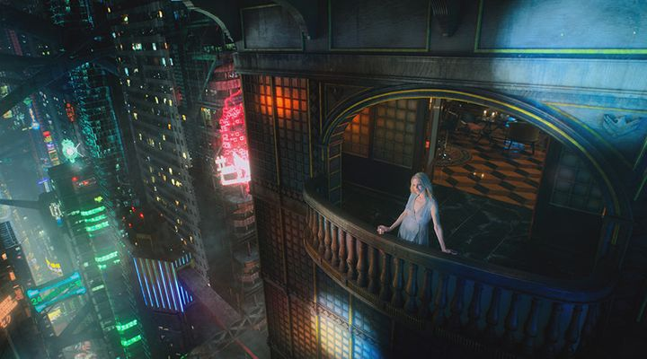 """Altered Carbon"" is coming to Netflix."
