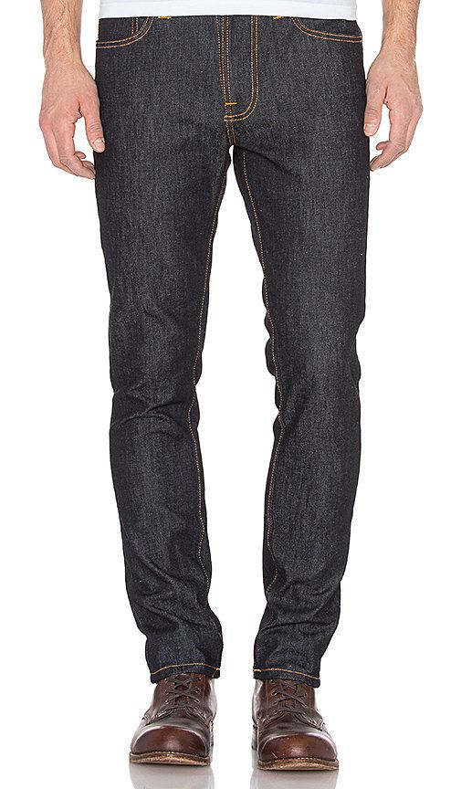 "<a href=""http://www.revolve.com/mens/nudie-jeans/br/290773/?srcType=dp_des2"" target=""_blank"">Nudie Jeans</a> only sources 100"