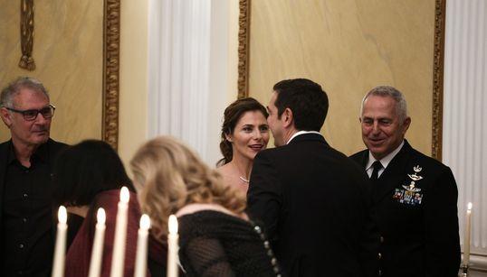 Το δείπνο προς τιμήν του προέδρου του Ισραήλ στο προεδρικό