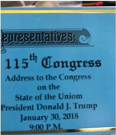 State Of The Union Tickets Feature Major Misspelling:
