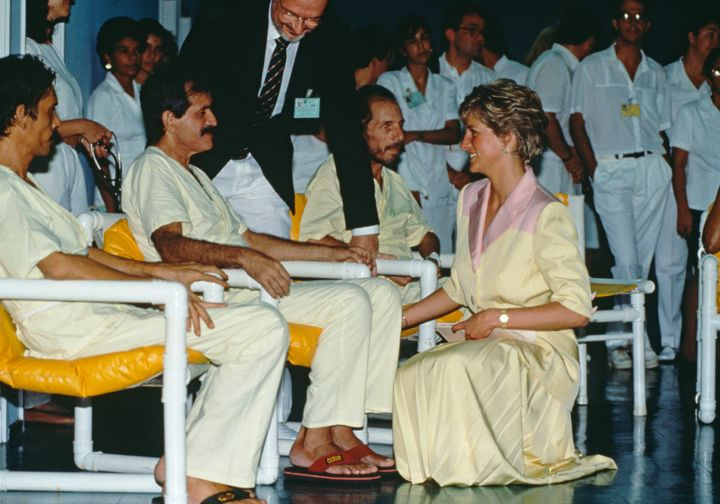 Princess Diana's charity work made a big difference in raising awareness and changing attitudes around AIDS.