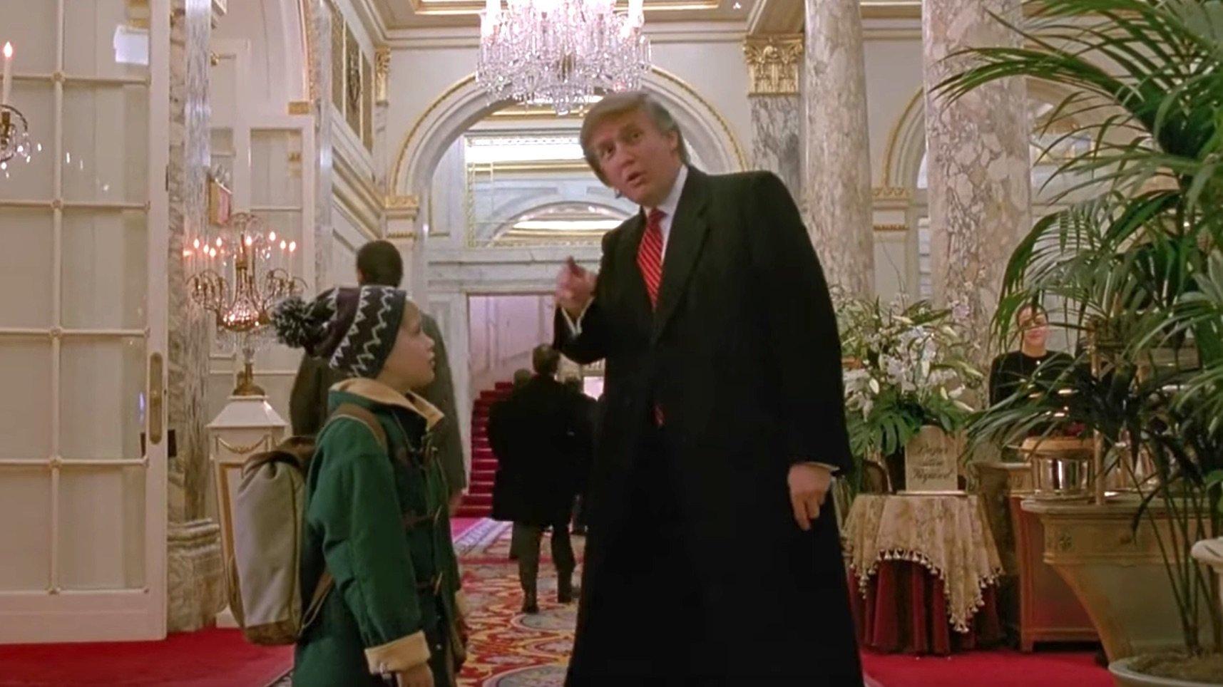 Trump Christmas Characters