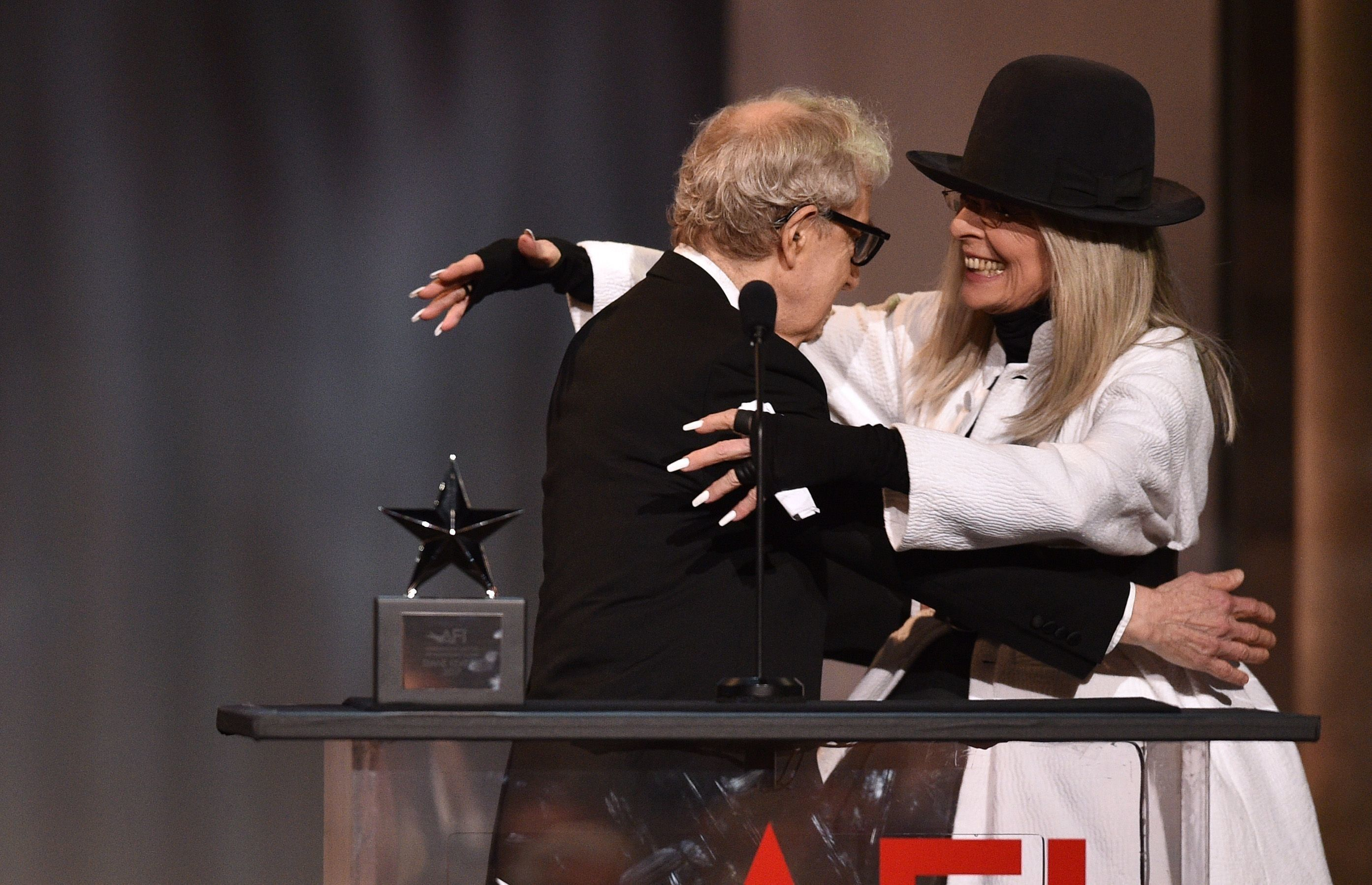 Diane Keaton Defends 'Friend' Woody Allen Over Sexual Abuse Allegations