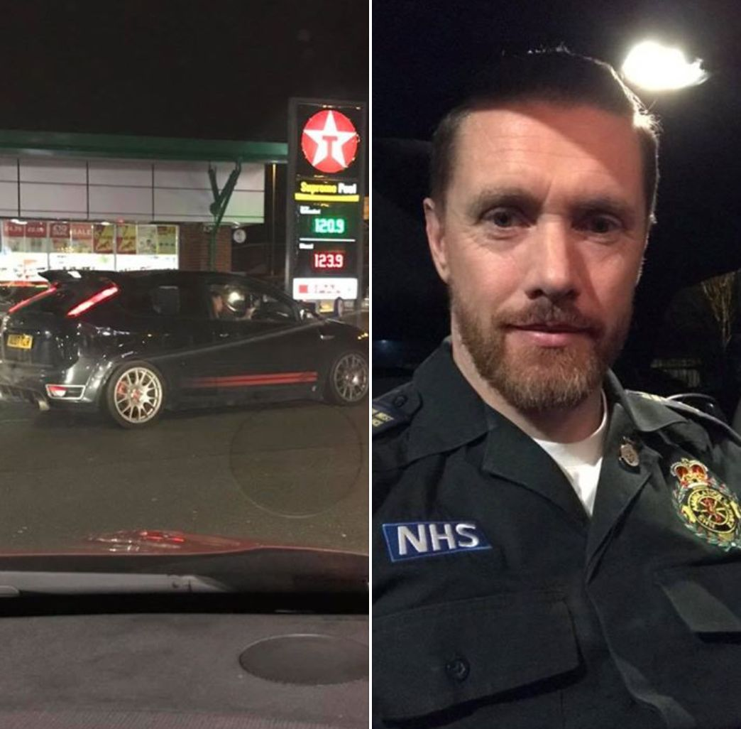 NHS Ambulance Worker 'Stumped For Words' After Kind Stranger Pays For His Petrol