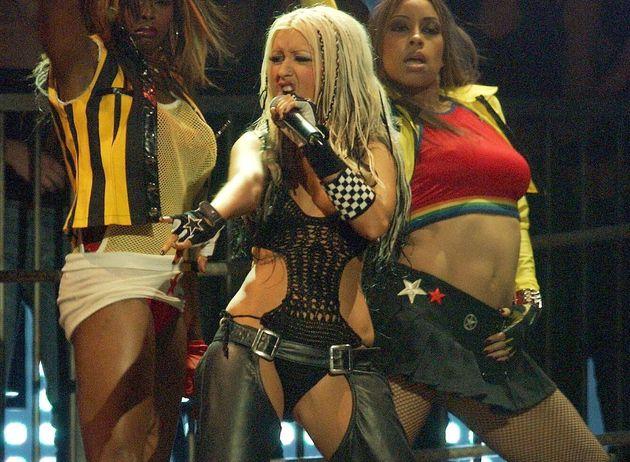Christina Aguilera bei den European Music Awards