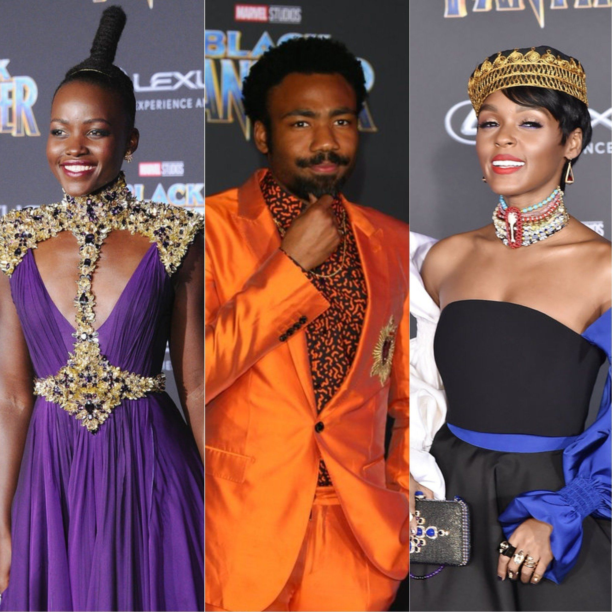 Lupita Nyong'o Led The Celebration Of Bold Colour At The Black Panther