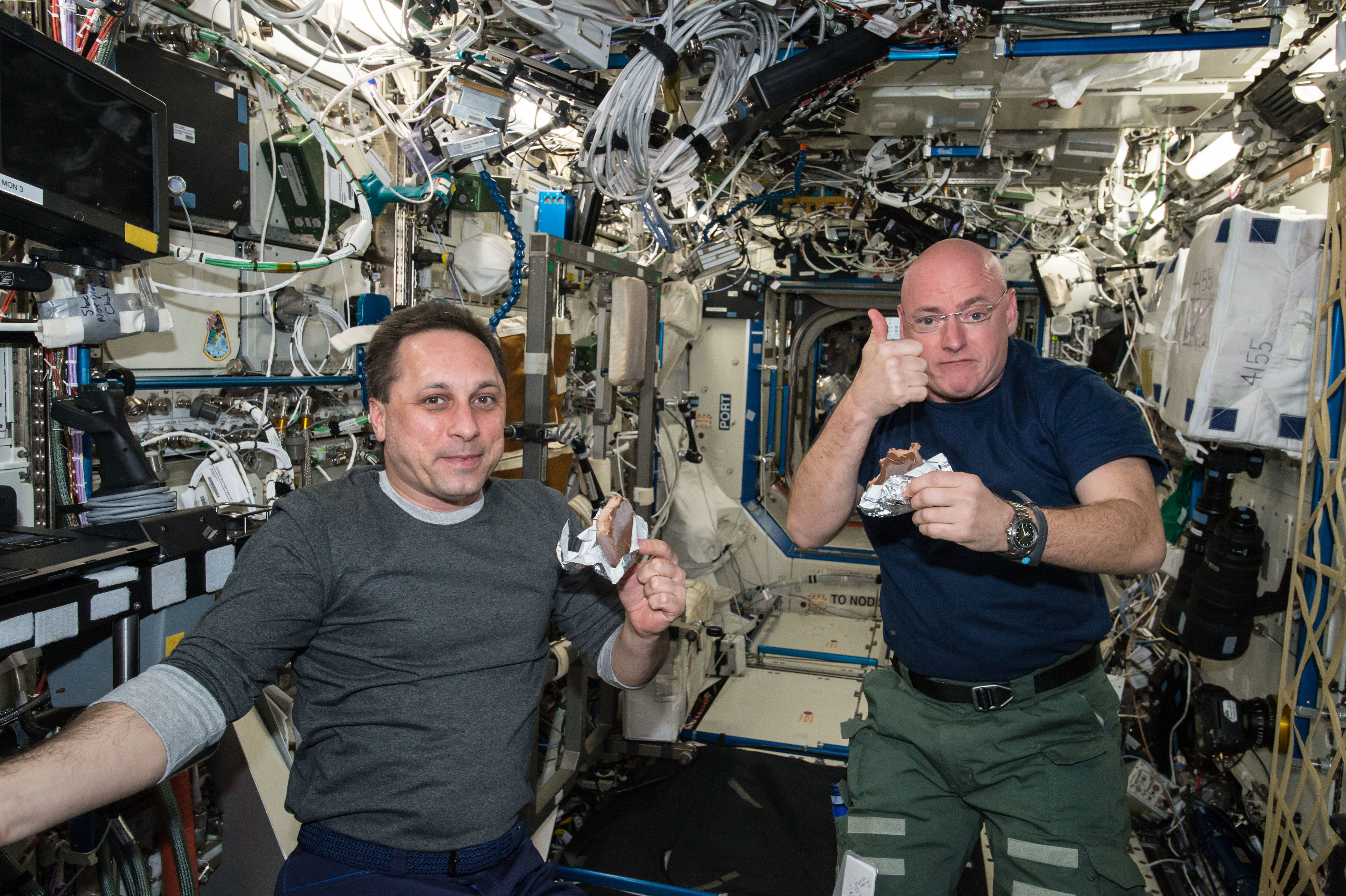 Suddenly, the food on the International Space Station doesn't seem so