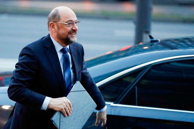 Martin Schulz feiert sein
