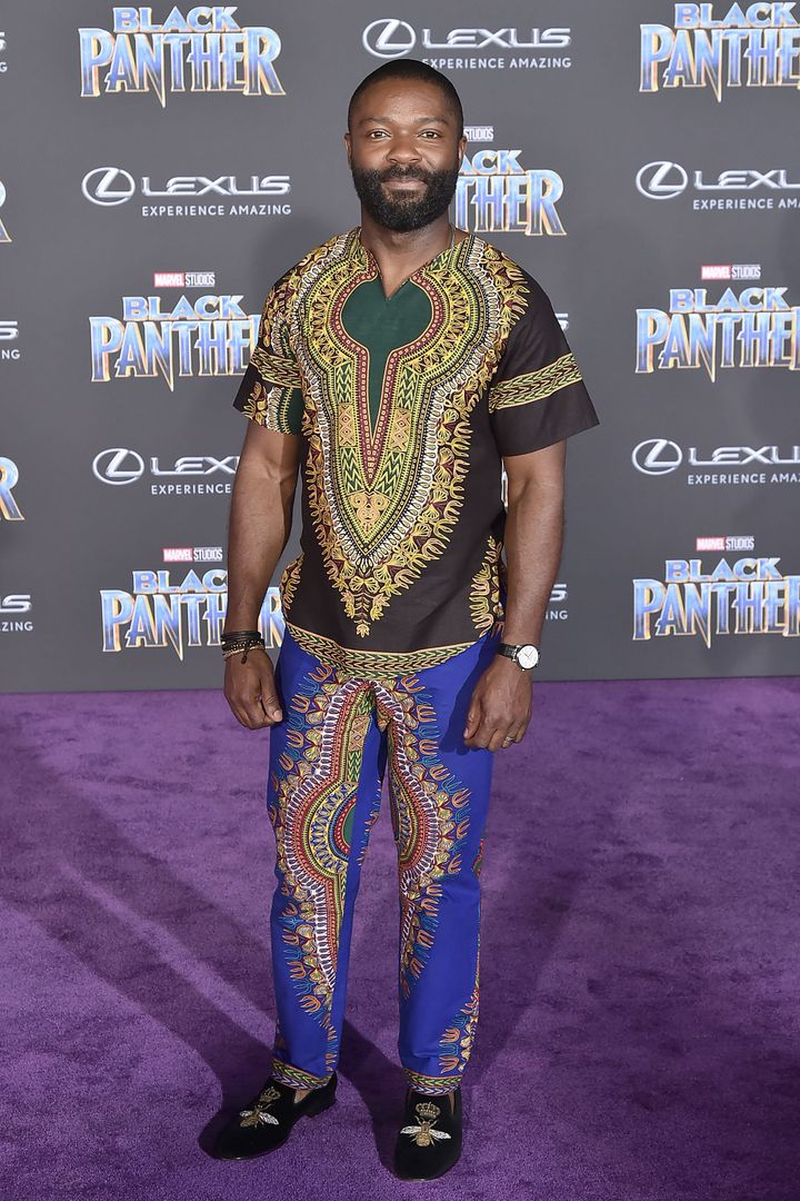 "David Oyelowo attends the premiere of ""Black Panther"" on Jan. 29 in Hollywood."