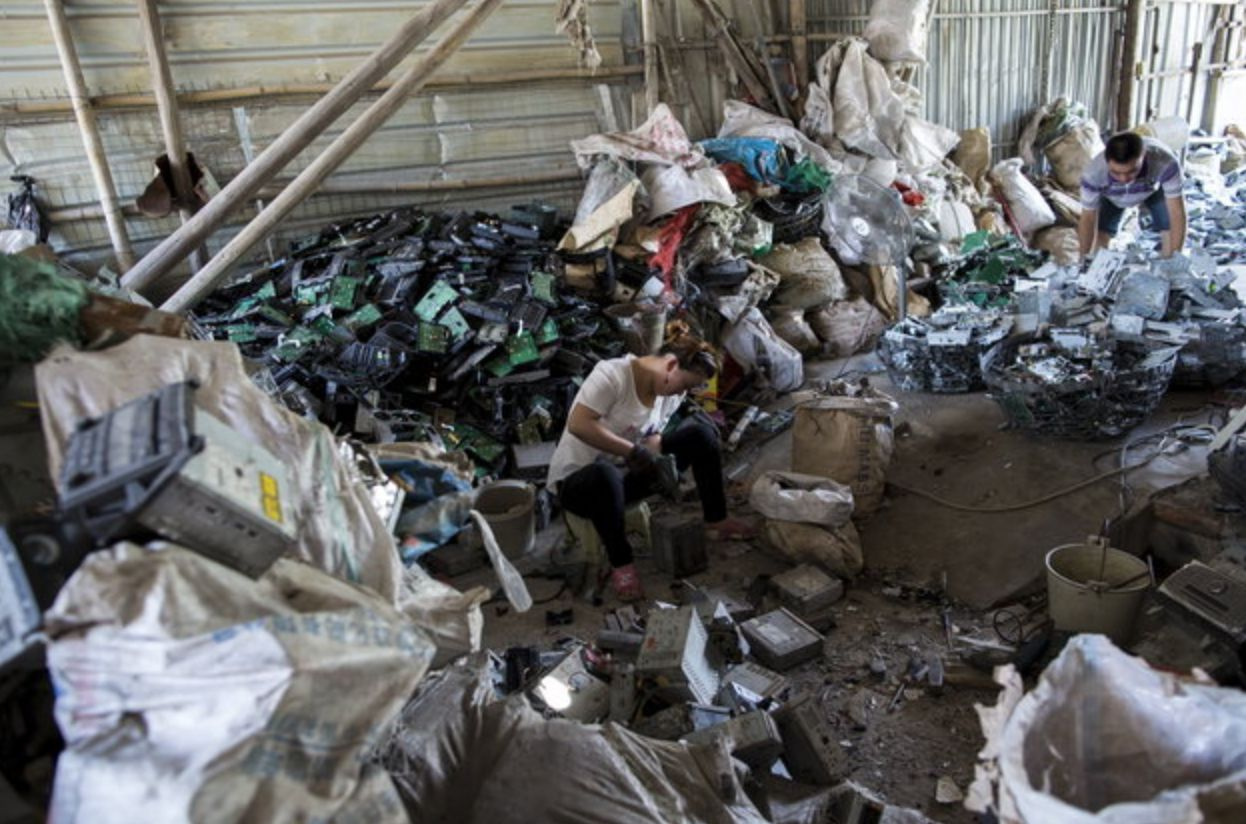 China Waste Ban Causing Local Authorities To 'Stockpile'