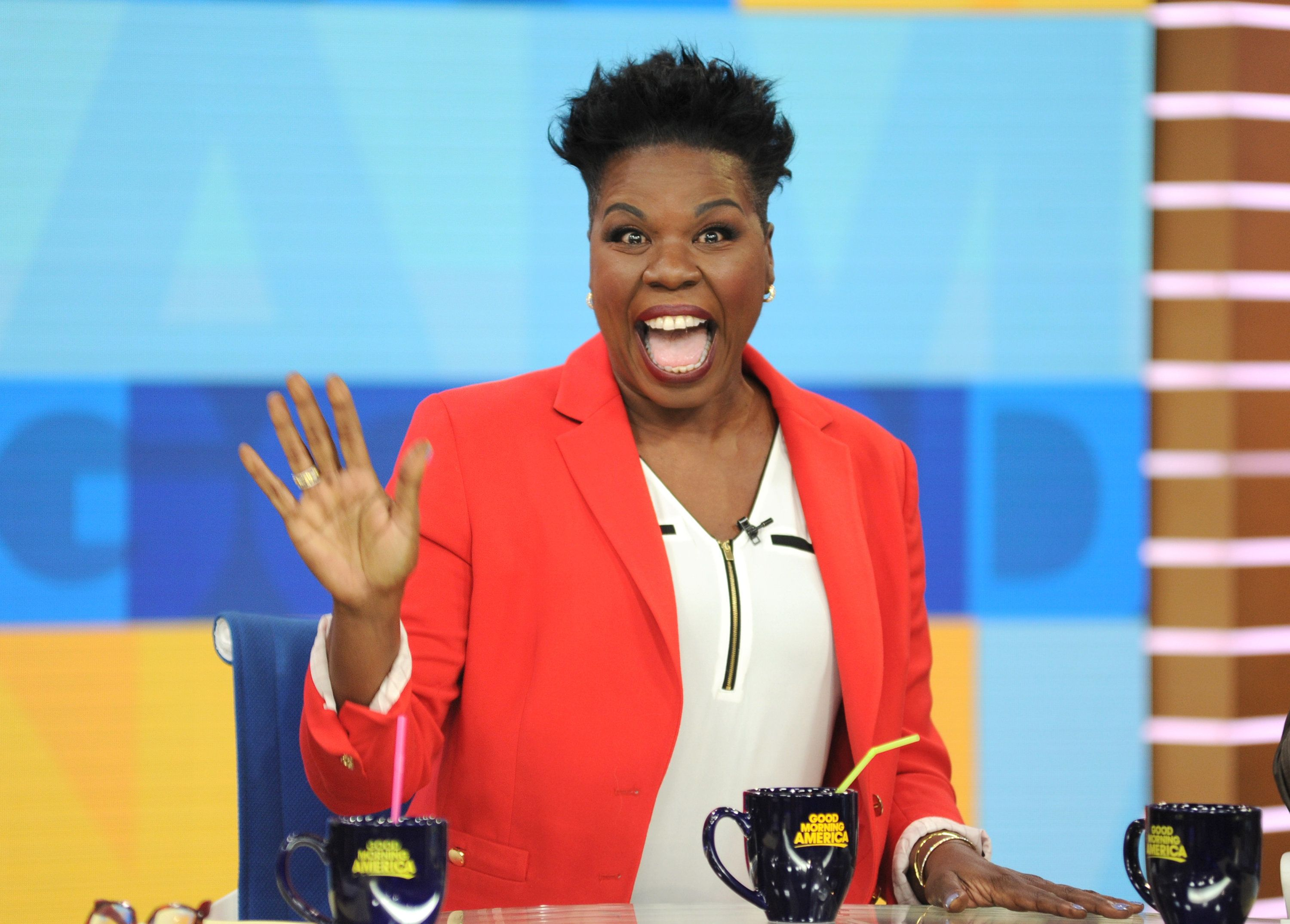 GOOD MORNING AMERICA  Leslie Jones is a guest on 'Good Morning America,' Monday, June 12, 2017, airing on the ABC Television Network.  (Photo by Paula Lobo/ABC via Getty Images)  LESLIE JONES