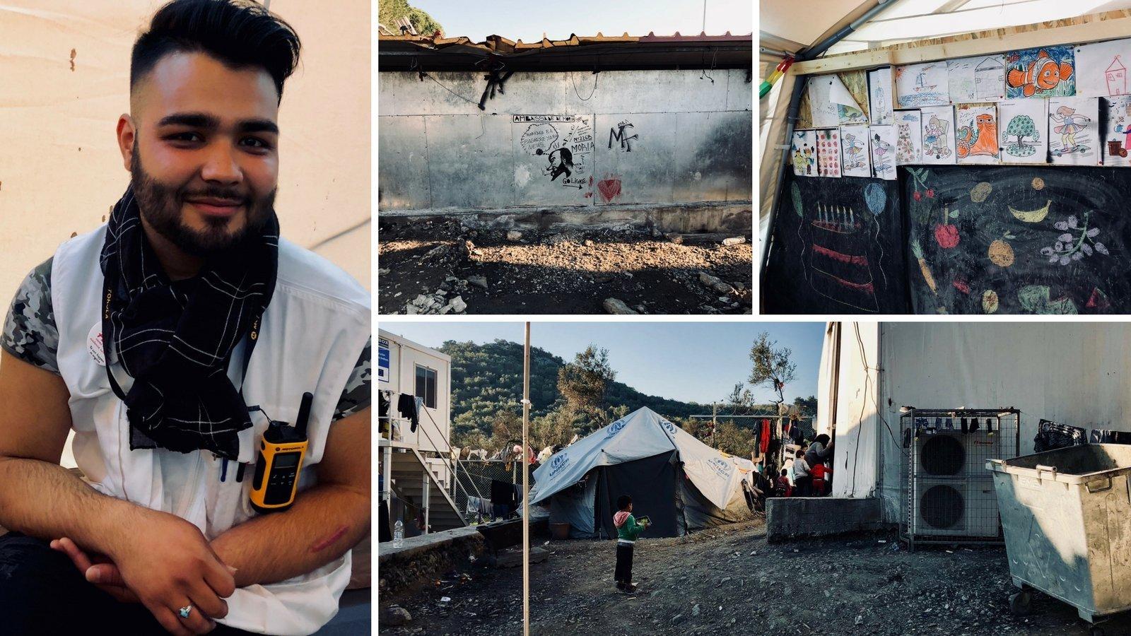 Vor einem Jahr strandete er in Griechenland, jetzt rettet er auf Lesbos Flüchtlinge