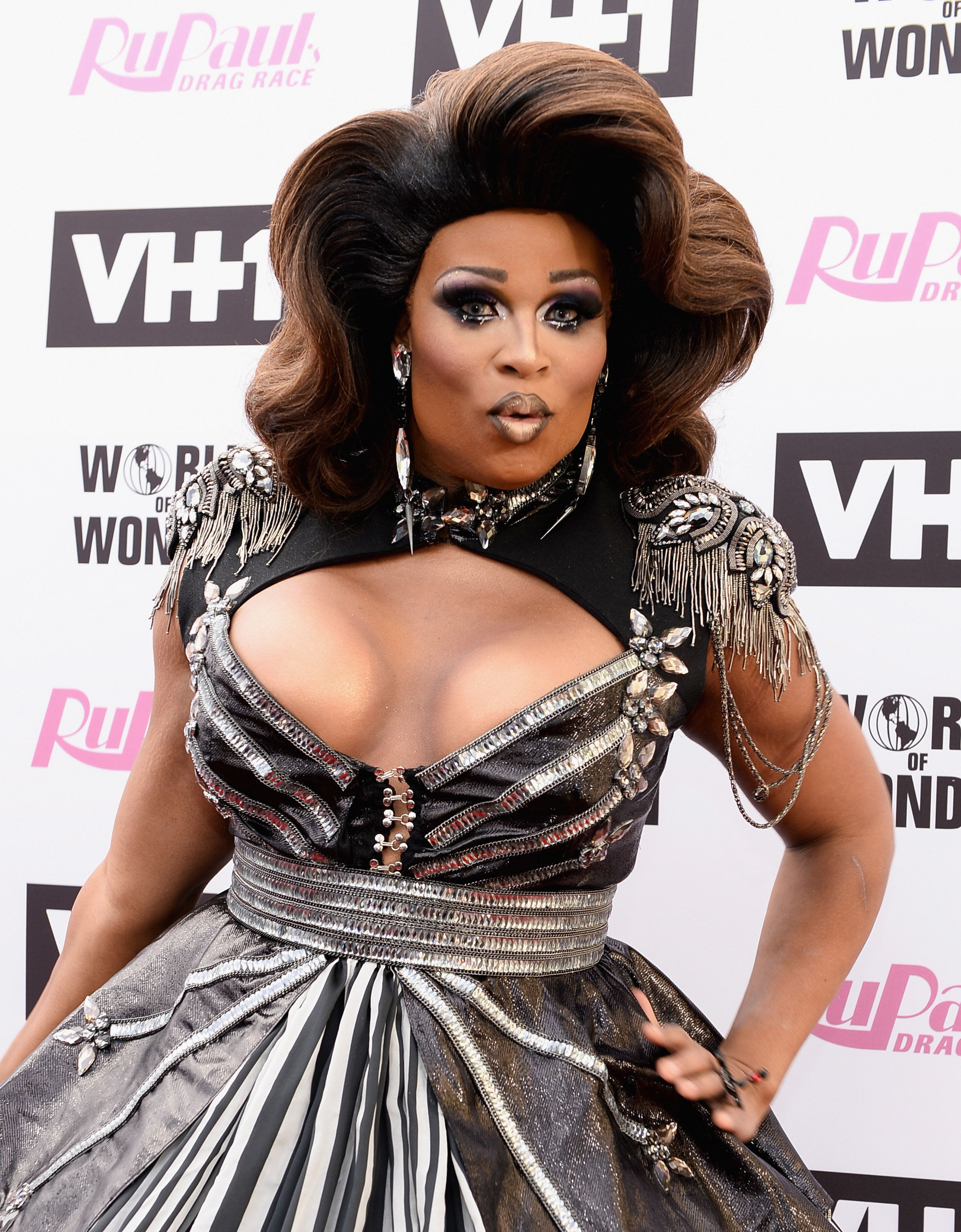 GLENDALE, CA - JUNE 09:  Peppermint  arrives at 'RuPaul's Drag Race' Season 9 Finale Taping at Alex Theatre on June 9, 2017 in Glendale, California.  (Photo by Tara Ziemba/Getty Images)