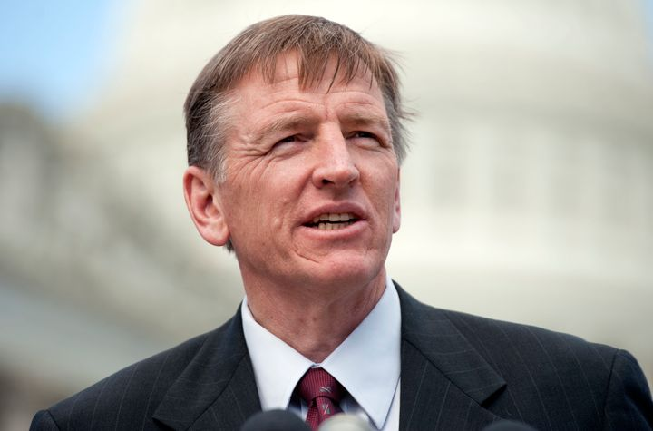 Rep. Paul Gosar (R-Ariz.) wants his fellow lawmakers' State of the Union guests to be arrested.
