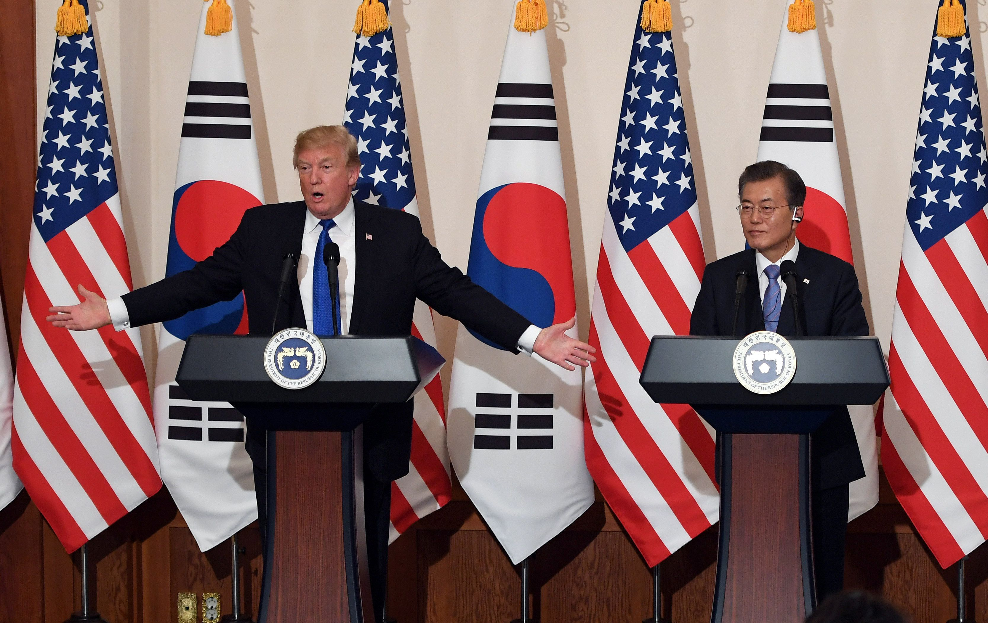 Report: Trump Scrapped South Korea Envoy Pick Over Split On Bombing North