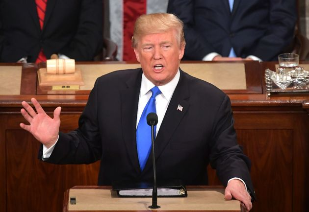 In his first State of the Union address, President Donald Trump downplayed or didn't mention many...