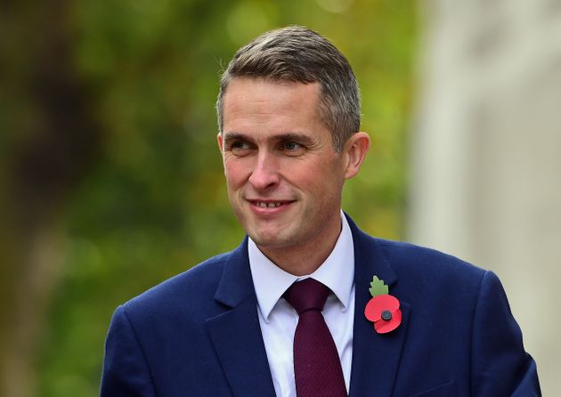 Defence Secretary Gavin