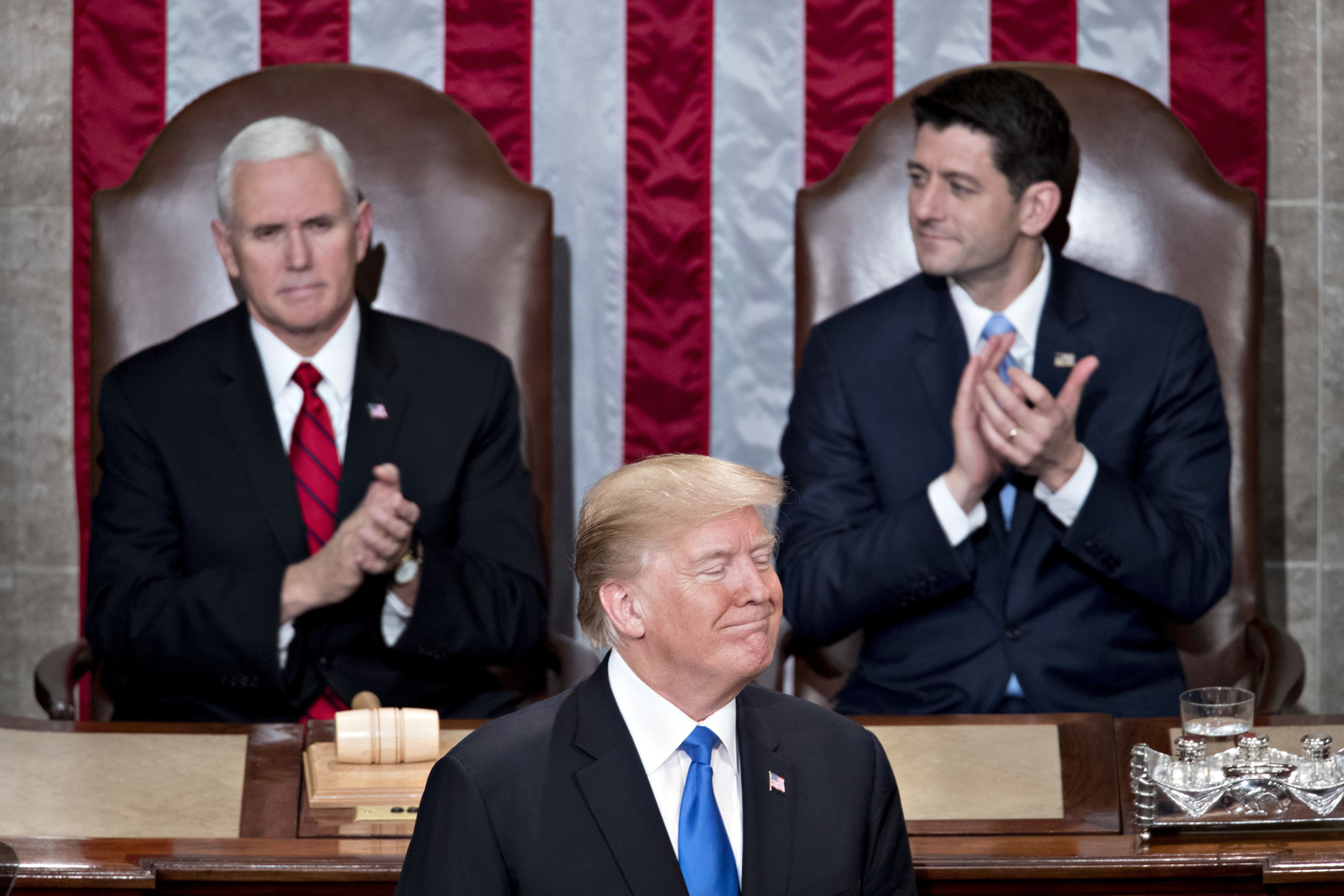 Trump Delivers His First State Of The Union Address