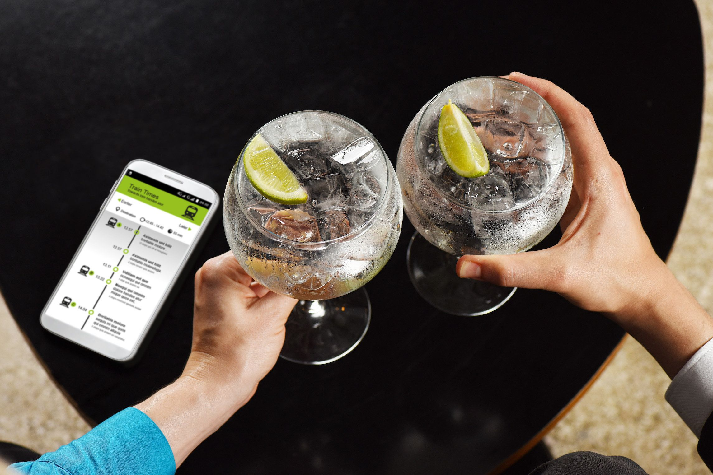 You Can Now Get A Free G&T If Your Train Is