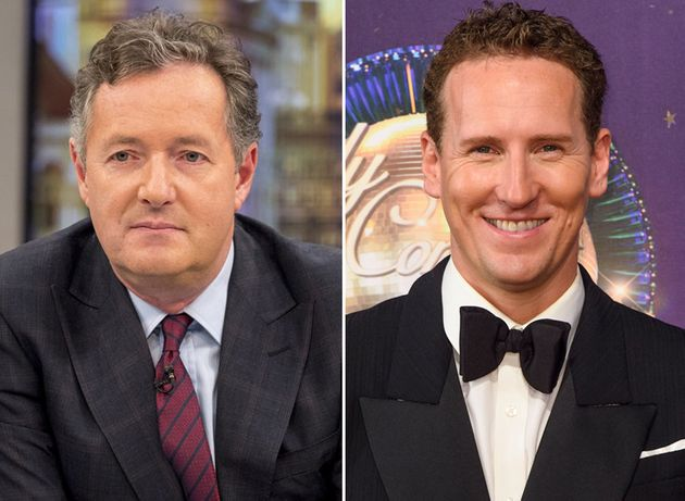 Piers Morgan has slammed the BBC for axing Brendan Cole from