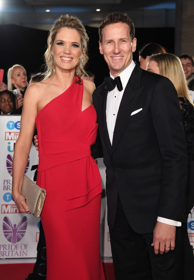 'GMB' star Charlotte Hawkins was Brendan's last partner on