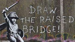Η τοιχογραφία του Banksy συντηρήθηκε μετά από τον βανδαλισμό που
