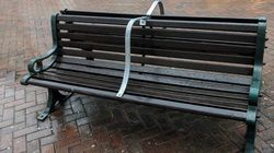 Fury As Homeless People Denied Benches To Sleep On In