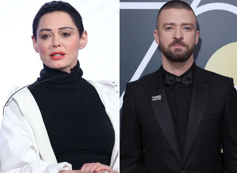 Rose McGowan Critiques Time's Up Movement, Singling Out Justin Timberlake