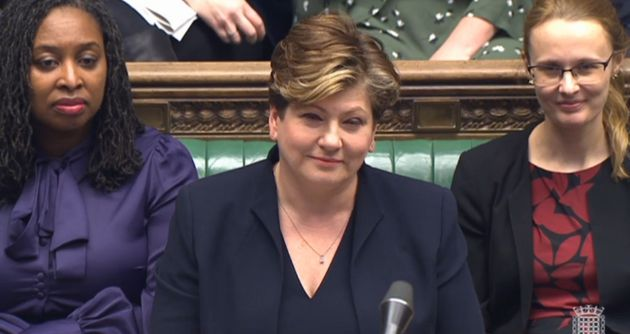 Emily Thornberry took Jeremy Corbyn's place for PMQs on