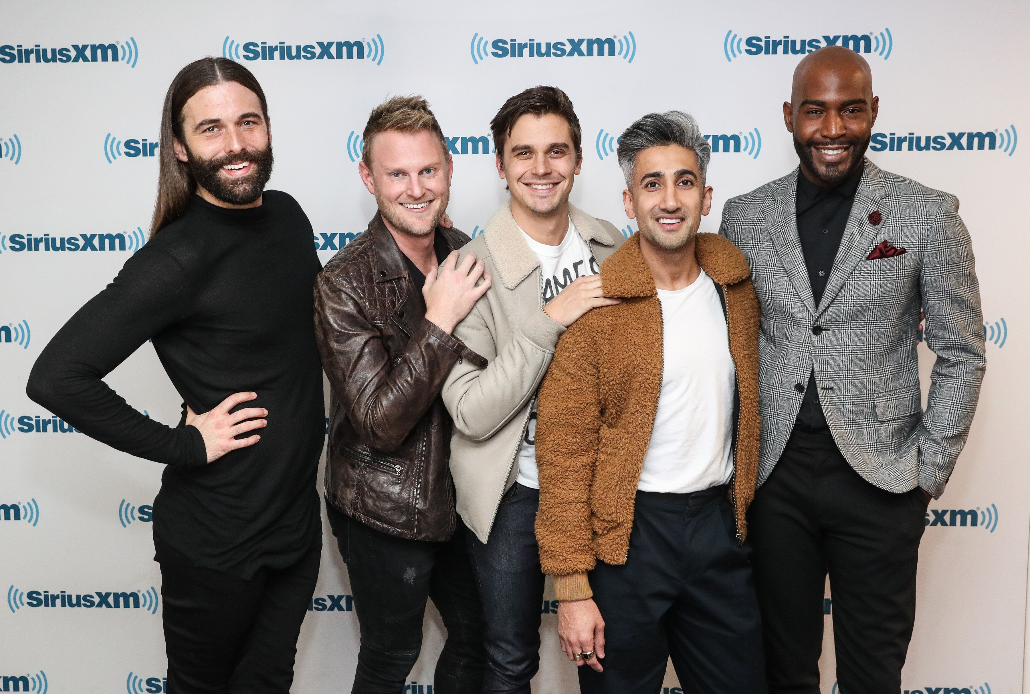 """The new cast of """"Queer Eye,"""" coming to Netflix on Feb. 7."""