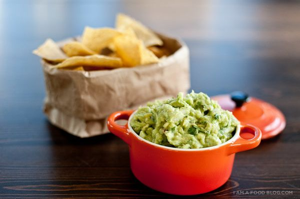 """<strong>Get the <a href=""""http://iamafoodblog.com/pineapple-guacamole-recipe/"""" target=""""_blank"""">Pineapple Guacamole</a> recipe"""