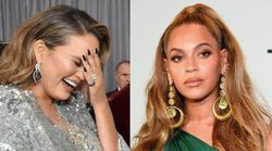 Chrissy Teigen Awkwardly Bowed To Beyoncé Because, Um, Wouldn't