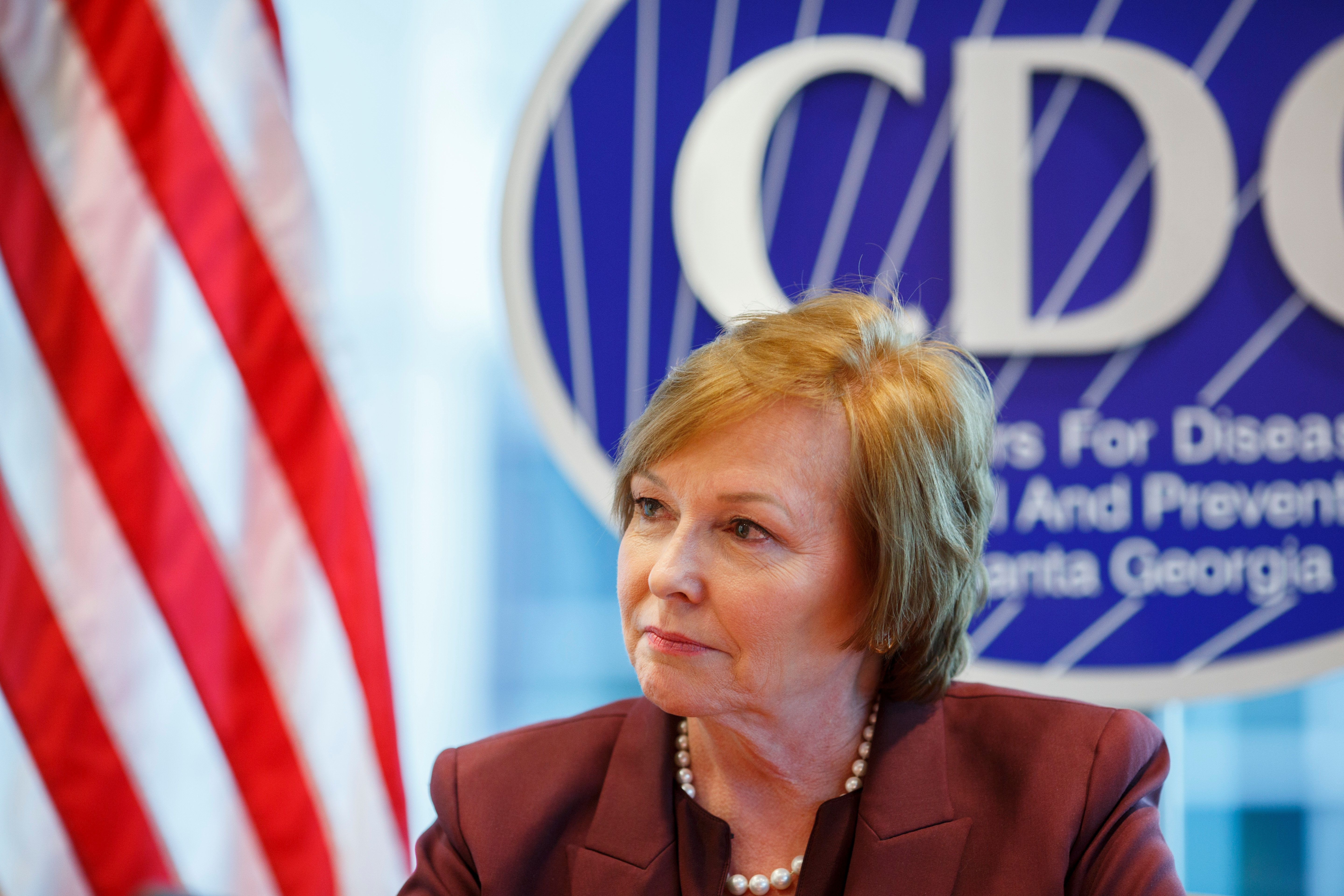 ATLANTA, GA - DECEMBER, 5: Centers for Disease Control and Prevention Director Dr. Brenda Fitzgerald is photographed at the agency's headquarters in Atlanta, GA on Tuesday, December 5, 2017. (Photo by Melissa Golden for The Washington Post via Getty Images)
