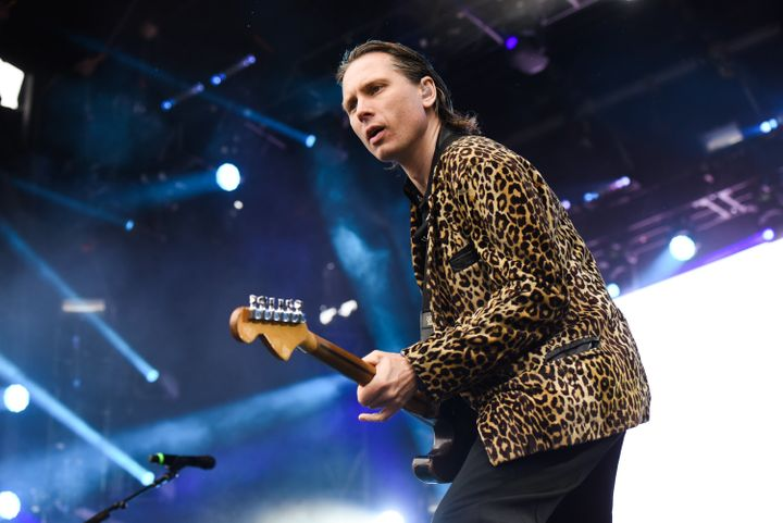 Alex Kapranos performs with Franz Ferdinand during the Governors Ball Music Festival on June 4, 2017, in New York.