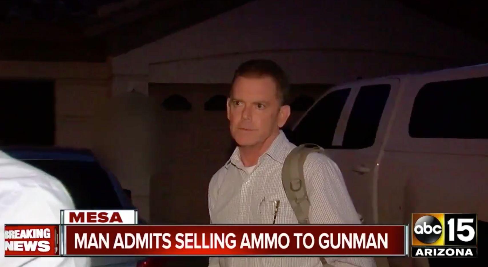 Douglas Haig has admitted to selling Las Vegas gunman Stephen Paddock rounds of ammunition but denies having known him.