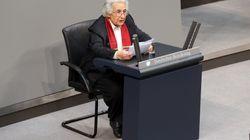 Holocaust-Überlebende hält bewegende Rede im Bundestag – bei einem Satz klatschen alle bis auf die