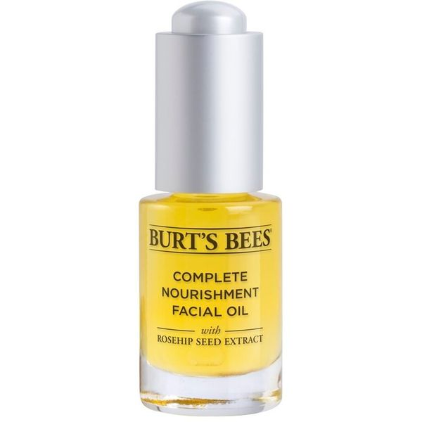 For a soothing, calming and all-around moisturizing facial oil, Burt's Bee's Complete Nourishment facial oil is a good choice